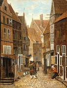Famous Artists - Cityscape by Jacob Vrel