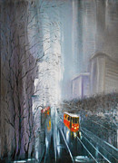 Natalya Zhdanova - Cityscape painting from...