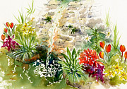 Sienna Framed Prints - Civic Conservatory Framed Print by Pat Katz