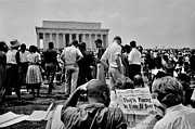 Protests Framed Prints - Civil Rights Occupiers Framed Print by Benjamin Yeager