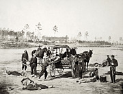 Army Of The Potomac Framed Prints - Civil War: Ambulance, 1864 Framed Print by Granger