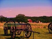 Eric Schiabor Prints - Civil War Caisson At Gettysburg Print by Eric  Schiabor