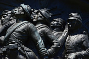 Confederate Monument Prints - Civil War Figures Print by Paul W Faust -  Impressions of Light