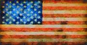 Civil War Flag Print by Dan Sproul