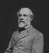Civil War General Robert E Lee Print by War Is Hell Store