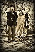 Loader Photos - Civil War   Guard Duty by Paul Ward