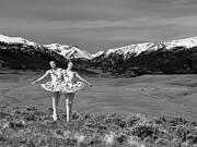 Ballerinas Prints - Claire and Victoria Print by Gene Rodman