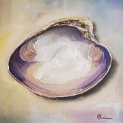 Kristine Prints - Clam Shell No. 4 Print by Kristine Kainer