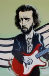Slowhand Prints - Clapton Print by Rob Hans