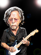 Eric Clapton Digital Art - Clapton by Tim Myers