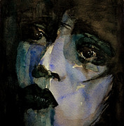 Lips  Painting Prints - Clara Bow  Print by Paul Lovering