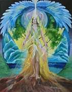 Astrology Paintings - Clarity by Abigail Newman