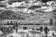 Dixon Prints - Clark Fork River Bursting its Banks Print by Paul W Sharpe Aka Wizard of Wonders