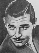 Classic Hollywood Originals - Clark Gable by D Joseph Aho