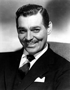 Clark Gable Art - Clark Gable Portrait by Sanely Great