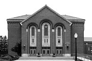 Hall Prints - Clarke University Donaghoe Hall Theater Print by University Icons
