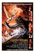 Movie Mixed Media - Clash of the Titans 1981 by Presented By American Classic Art
