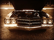 Sport Photography Originals - Classic 1970s Chevelle Super Sport by Jessica Grandall