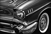 Tailgate Prints - Classic 57 Chevy Print by Gordon Dean II