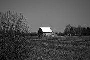 Rural Indiana Prints - Classic Barns Print by Alys Caviness-Gober