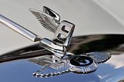 Classic Bentley T Series Corniche 1975 Badge Print by George Atsametakis