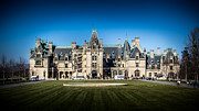 Large House Prints - Classic Biltmore Print by Perry Webster