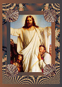 Carl Bloch Prints - Classic Bloch Jesus Print by Robert G Kernodle