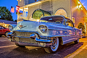 Classic Blue Caddy At Night Print by Edward Fielding