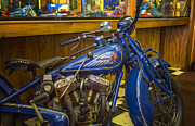 Classic Blue Indian  Print by Steve Benefiel