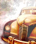 Classic Car 1940s Packard  Print by Ann Powell