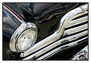 Metal Sheet Framed Prints - Classic Car Black - 07.13.07_408 Framed Print by Paul Hasara