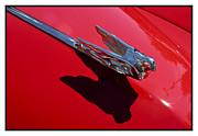 Metal Sheet Framed Prints - Classic Car Red - 07.14.07_001 Framed Print by Paul Hasara