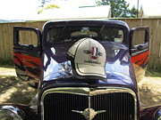Max Lines - Classic car with hat on.