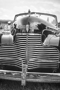 White Chevy Prints - Classic Chevrolet Print by Edward Fielding