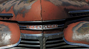 Rusted Cars Framed Prints - Classic Chevy 8 Framed Print by Deniece Platt