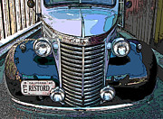 Sheats Posters - Classic Chevy Pickup 1 Poster by Samuel Sheats