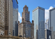 Classic Chicago -  The Jewelers Building Print by Christine Till