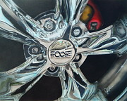 Chip Foose Art - Classic Chrome by Jordan Fraser