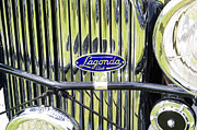 Lagonda Prints - Classic chrome rad Print by Peter Lloyd
