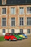 Front Four Framed Prints - Classic Citroen Framed Print by Olivier Le Queinec