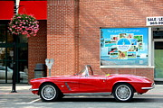 1960 Photo Originals - Classic Corvette by Ryan D