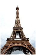 The Eiffel Tower Prints - Classic Eiffel Tower Print by Carol Groenen