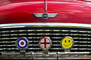 Smiley Face Framed Prints - Classic English Mini Framed Print by Tim Gainey