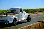 Field Glass Art - Classic Ford  by Beverly Guilliams