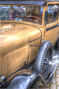 Past Times Framed Prints - Classic Ford of the 20th Framed Print by Heiko Koehrer-Wagner