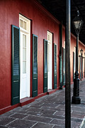 French Doors Framed Prints - Classic French Quarter Framed Print by John Rizzuto