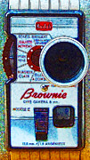 Brownie Digital Art - Classic Kodak Brownie Camera - 20130117 by Wingsdomain Art and Photography