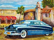 Rat Rod Painting Posters - Classic Mercury Poster by William Reed