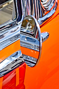 Orange Car Art - Classic Mirror by Phil