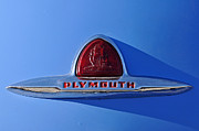 Plymouth Posters - Classic Plymouth badge Poster by George Atsametakis